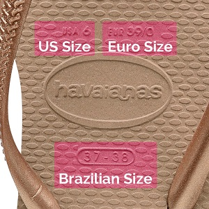 c086310b9e3bb2 Here s a Helpful Size Guide for Havaianas Flip Flops   Sandals ...